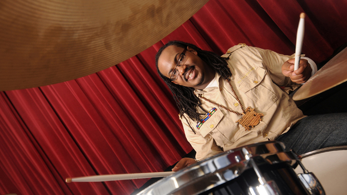 Markell Mills playing the drums.jpg