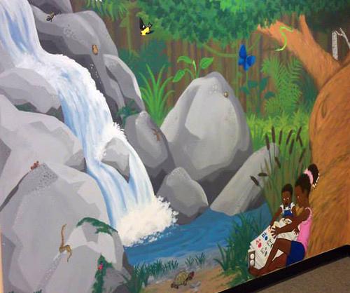 muralwaterfallmombaby