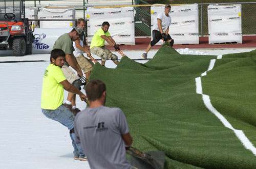 Artificial turf at Missouri S&T