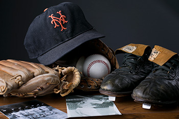 Buhite baseball memorabilia