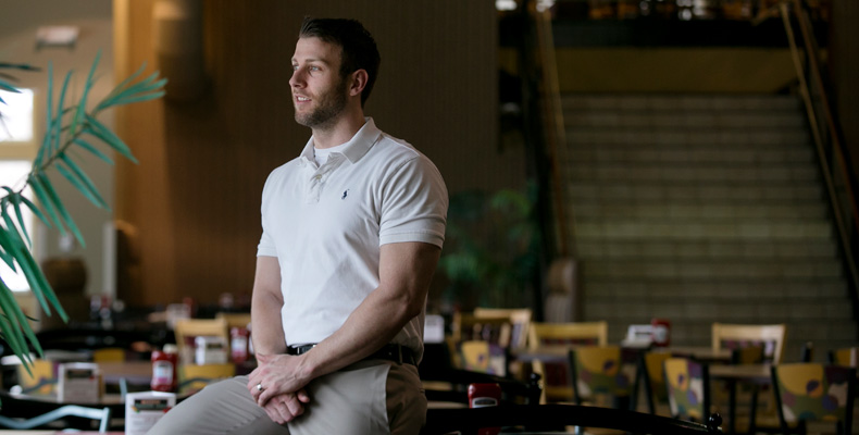 Michael Wuest, Bus'07, MBA'08, is the marketing manager of the University of Missouri-Columbia Campus Dining Services.