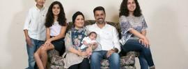 Mohammad AlKazimi and Hanan Altabbakh with their children. Sam O'Keefe/Missouri S&T