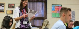 Christina King teaches math at Owensville High School