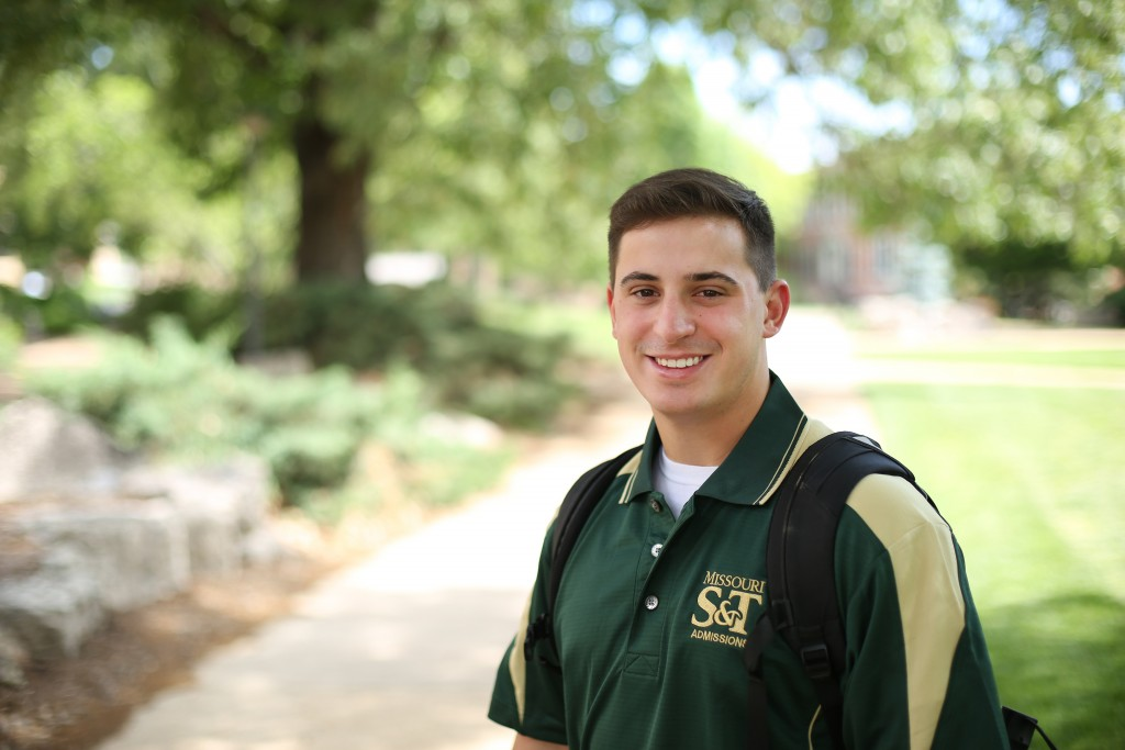 Killian Knowles graduated from S&T with a bachelors in technical communication in May 2015. Sam O'Keefe/Missouri S&T